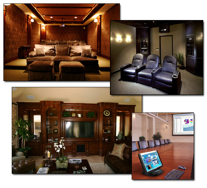 residential home automation audio video theater display